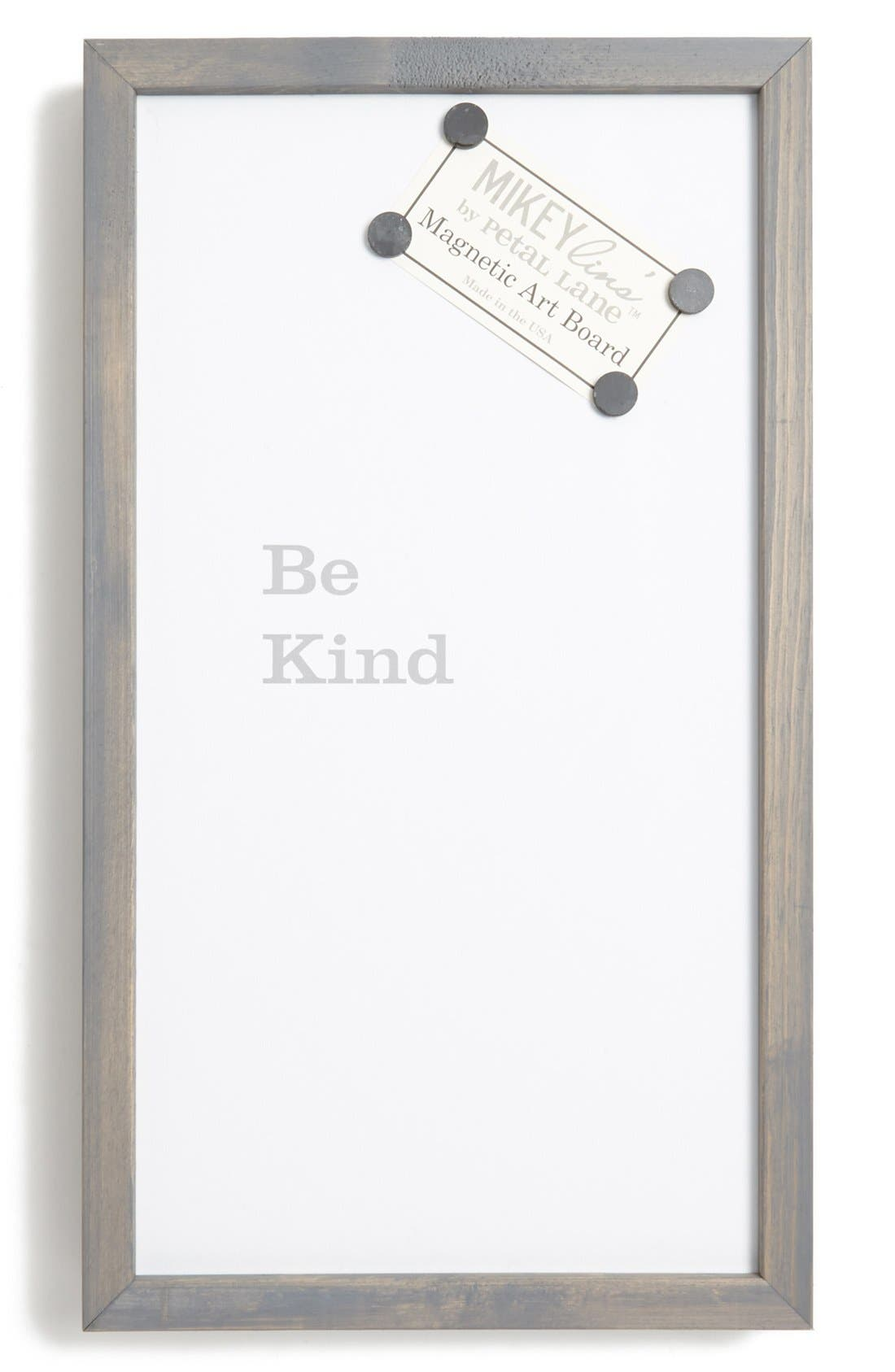 Main Image - Petal Lane 'Be Kind' Quotable Framed Magnet Art Board