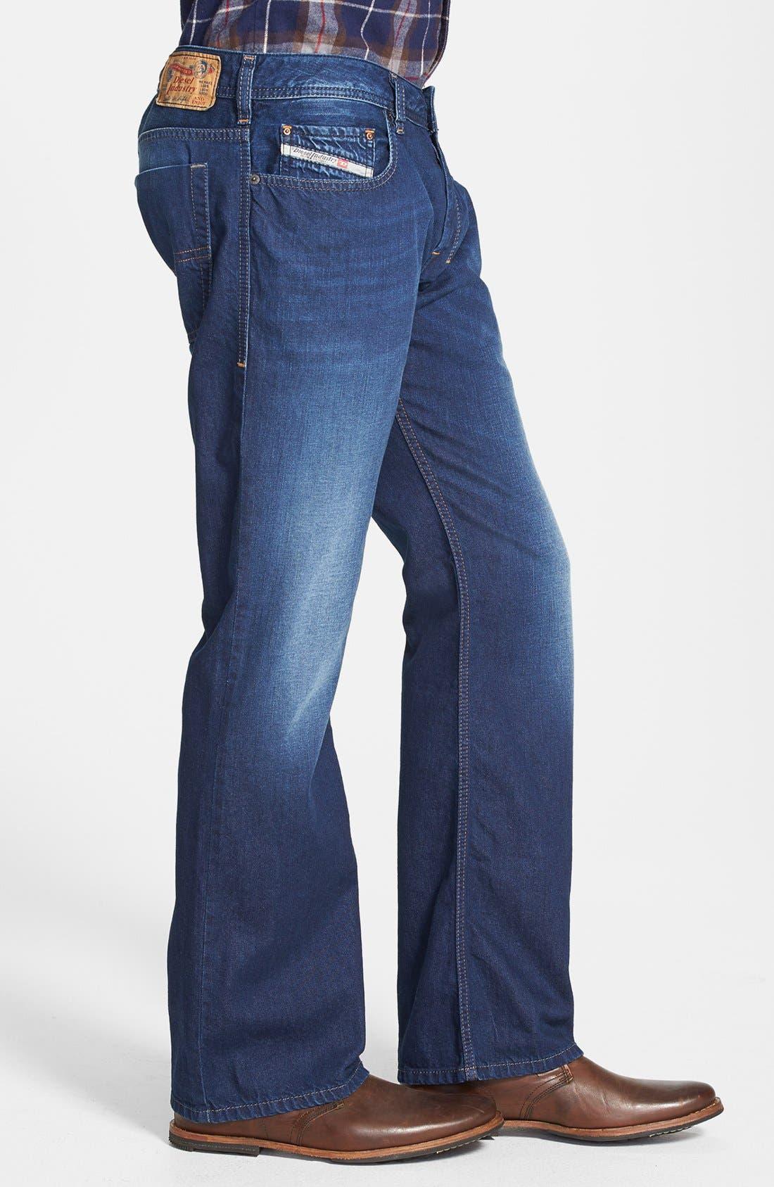 Alternate Image 3  - DIESEL® 'Zatiny' Bootcut Jeans (0818N)