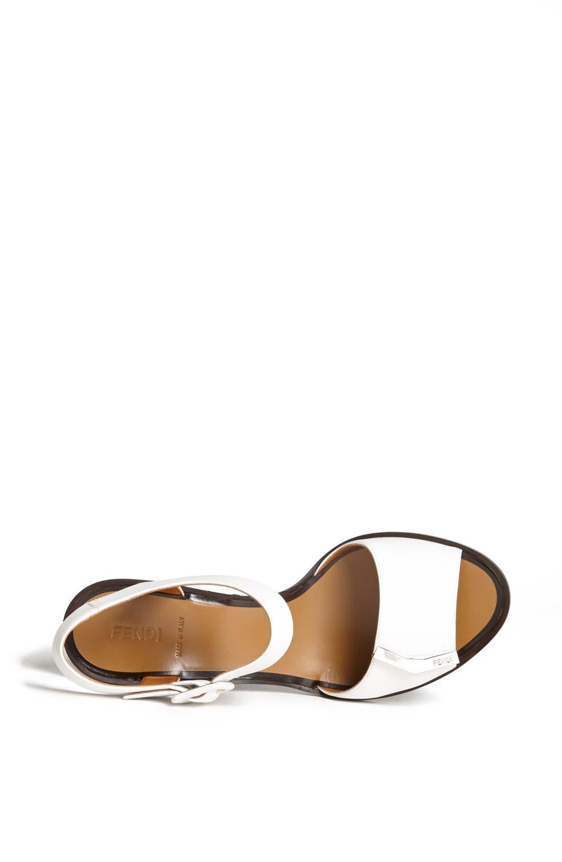 Alternate Image 3  - Fendi 'Demetra' Block Heel Sandal