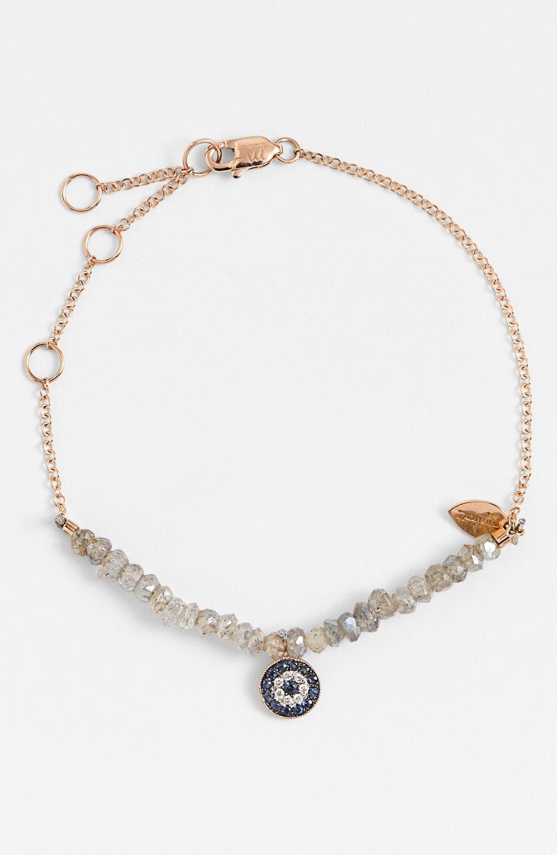 Alternate Image 1 Selected - MeiraT 'Desert Infusion' Diamond, Sapphire & Stone Bracelet