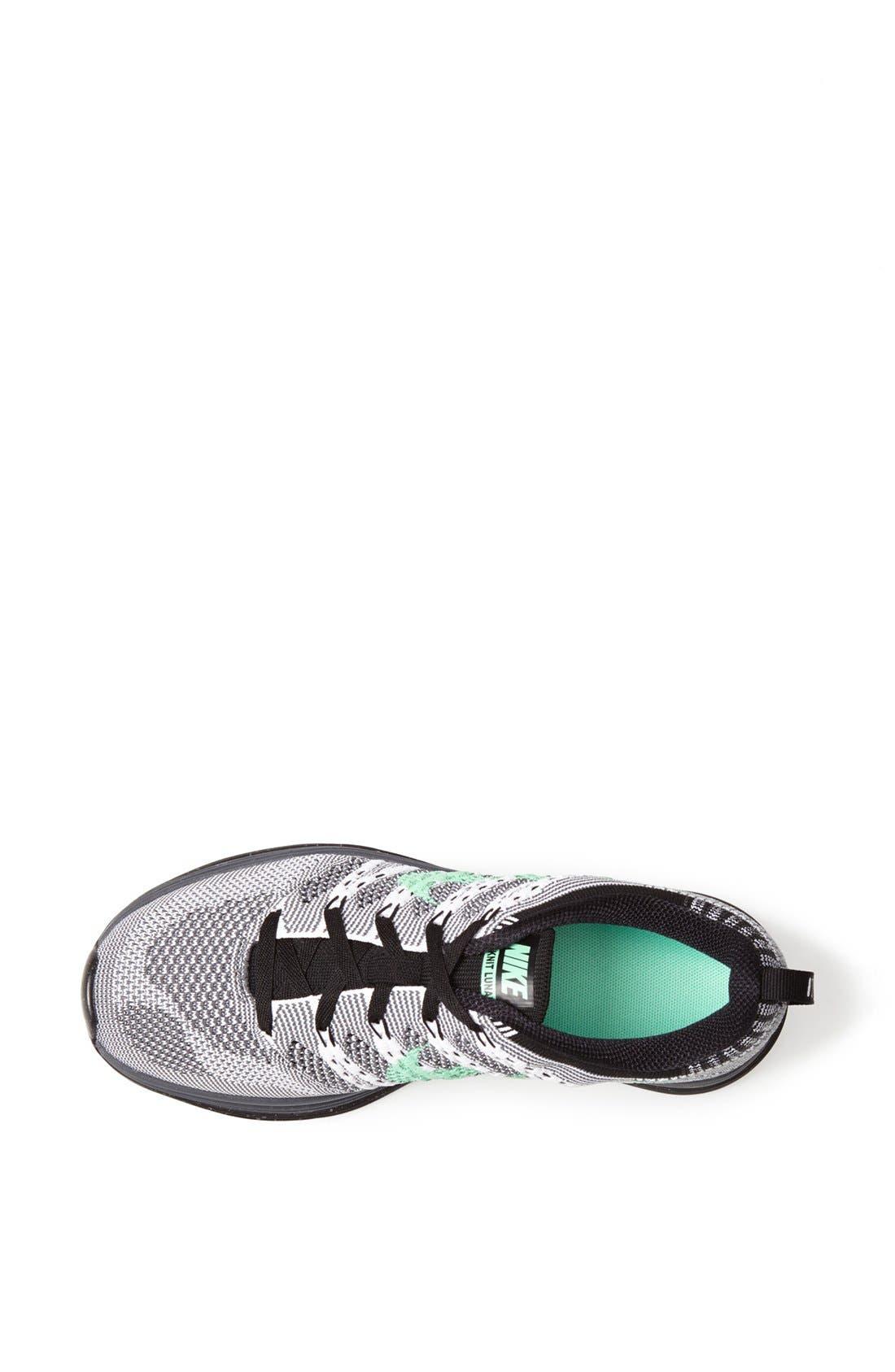 Alternate Image 3  - Nike 'Flyknit Lunar1+' Running Shoe (Women)