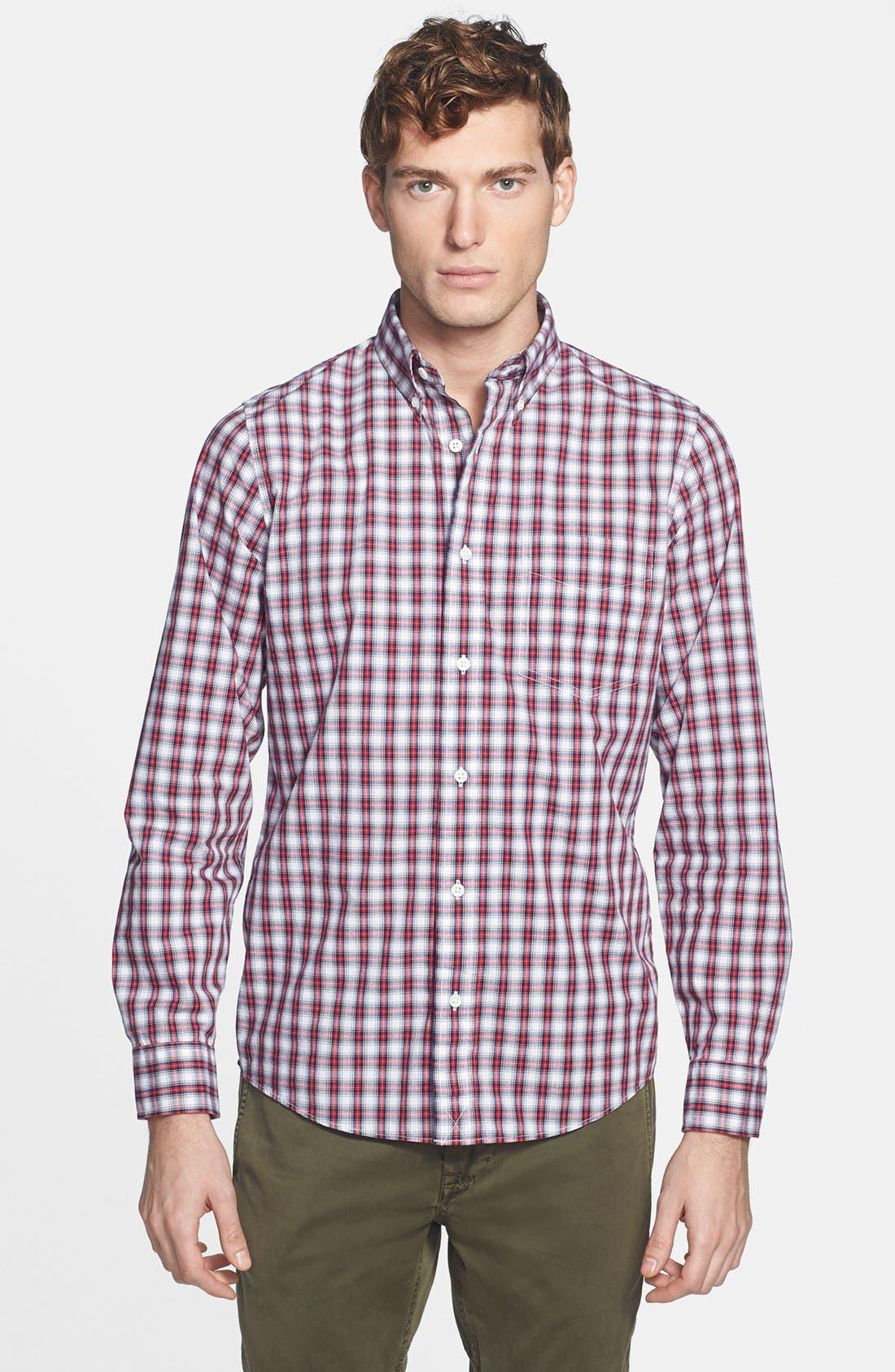 Alternate Image 1 Selected - Jack Spade 'Hawley' Plaid Shirt