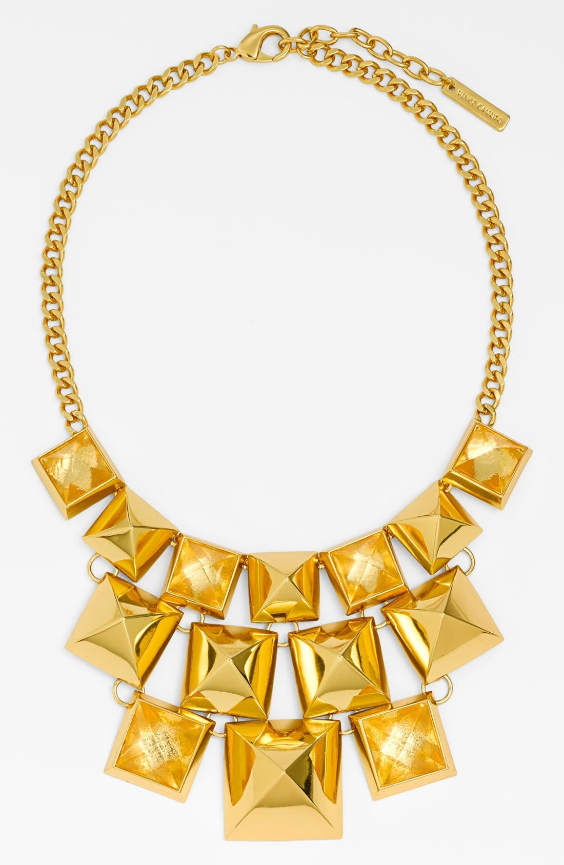 Alternate Image 1 Selected - Vince Camuto 'Clearview' Pyramid Statement Necklace