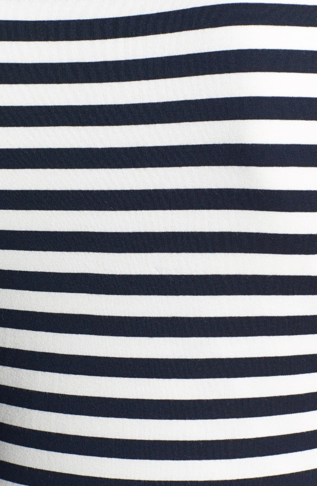Alternate Image 3  - Vince Camuto 'Marina Stripe' Asymmetrical Top (Regular & Petite)