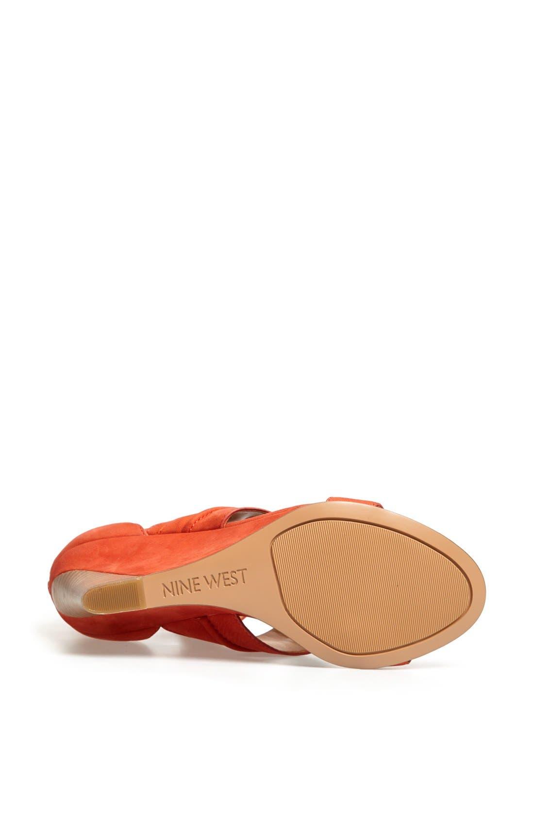 Alternate Image 4  - Nine West 'Francie' Leather Sandal