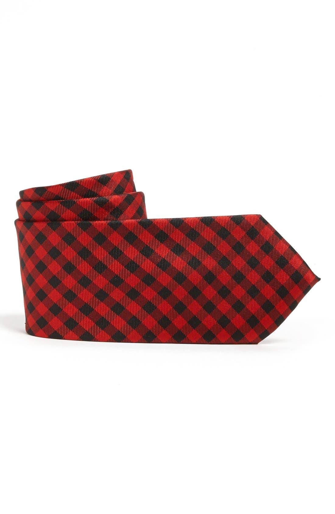Main Image - Nordstrom Woven Silk Tie (Big Boys)