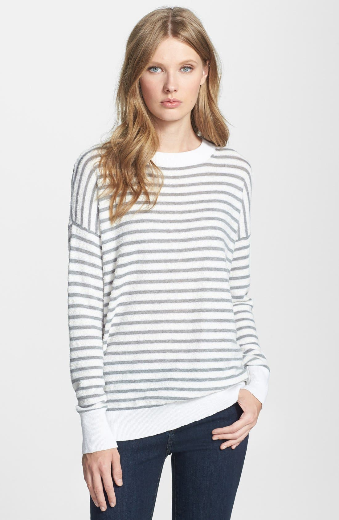 Main Image - Theory 'Andrista D.' Terry Sweater