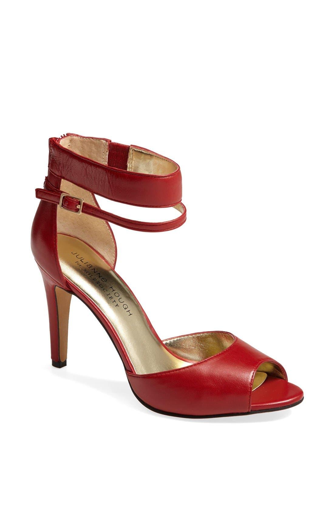 Alternate Image 1 Selected - Julianne Hough for Sole Society 'Denelle' Ankle Strap Sandal