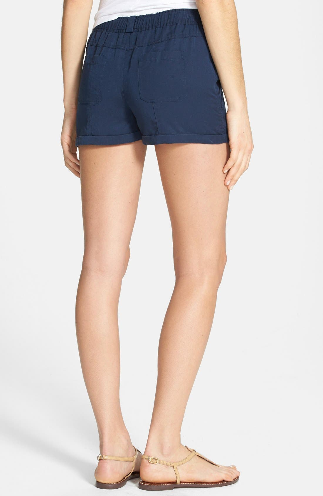 Alternate Image 2  - Two by Vince Camuto Cuff Drawstring Shorts