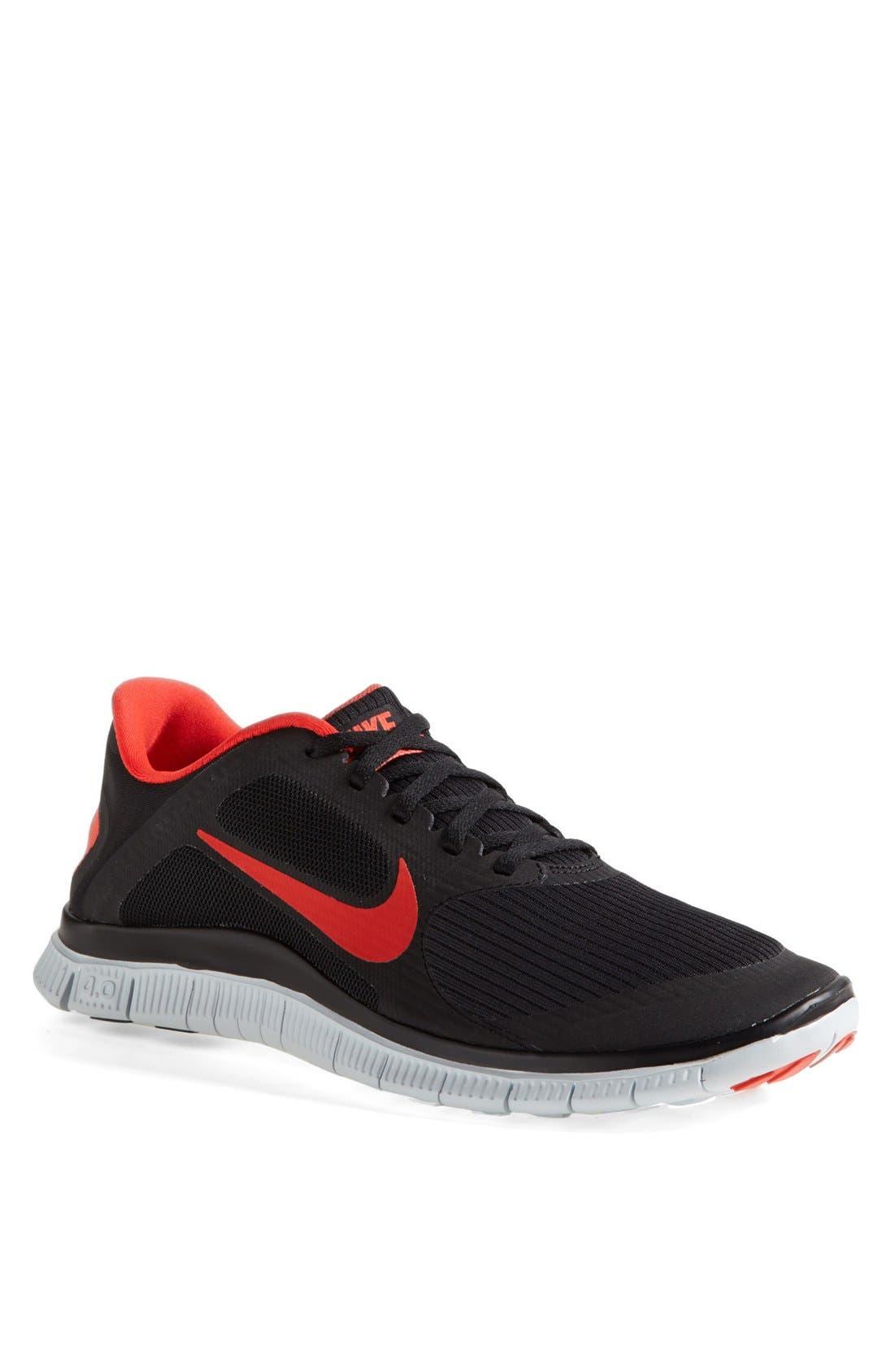 Alternate Image 1 Selected - Nike 'Free 4.0 V3' Running Shoe (Men)