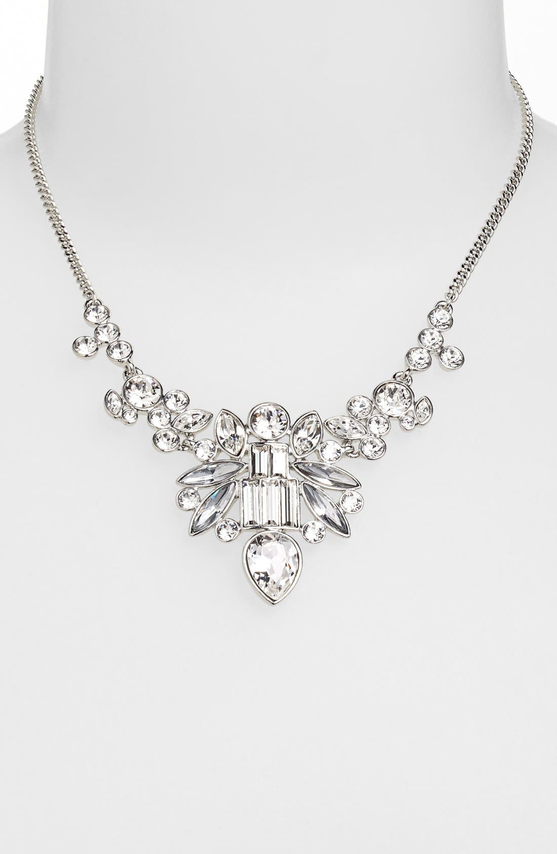 Alternate Image 1 Selected - Givenchy Crystal Bib Necklace (Nordstrom Exclusive)