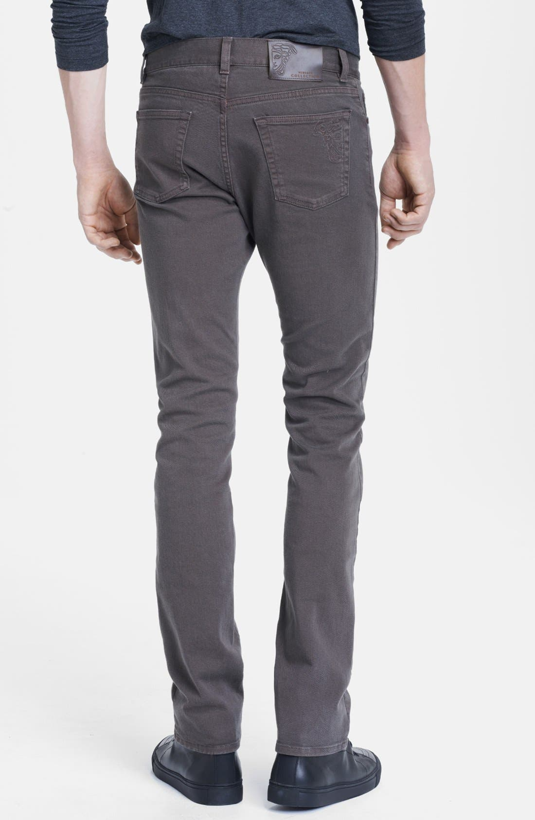 Alternate Image 2  - Versace Straight Leg Jeans