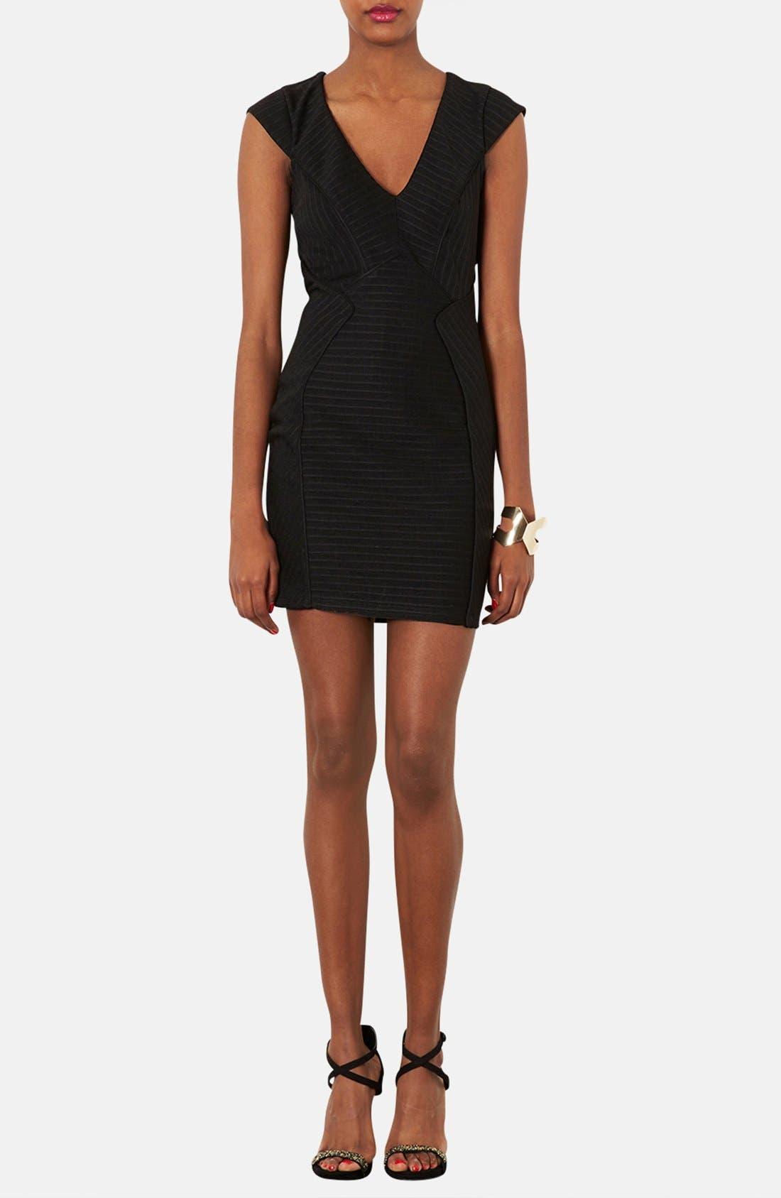 Main Image - Topshop Bandage Jersey Body-Con Dress