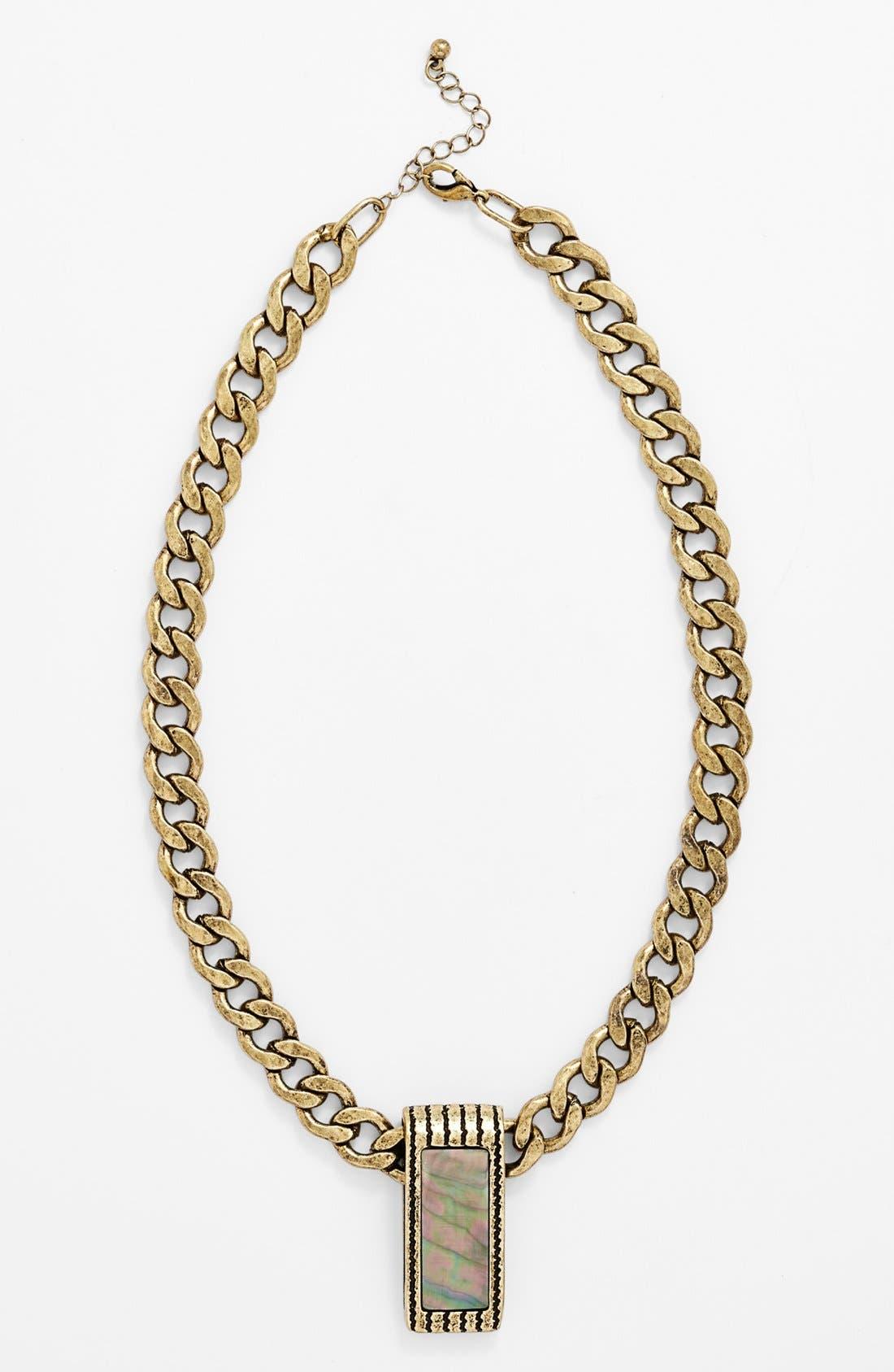 Main Image - Leith 'Hologram' Pendant Necklace