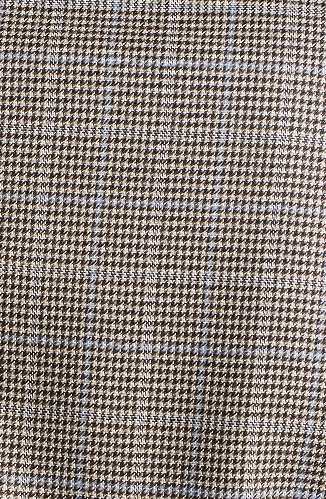 Alternate Image 3  - Canali Classic Fit Silk Blend Plaid Sportcoat