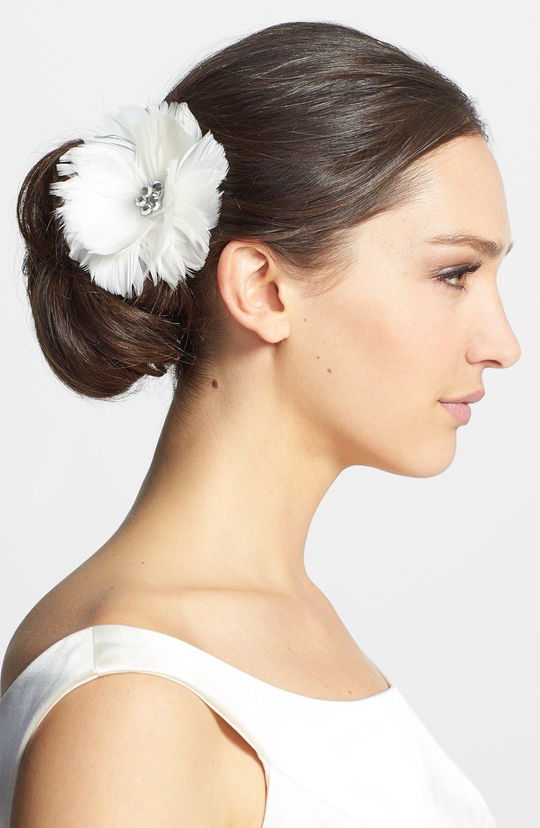 Main Image - J-Picone 'Avery' Floral Opera Clip