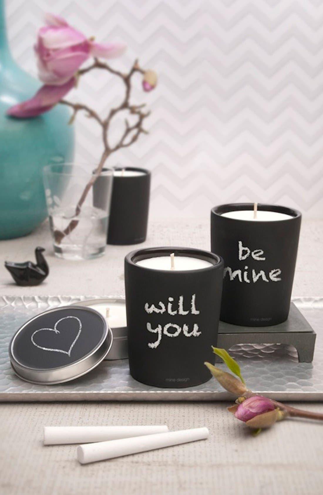 Alternate Image 3  - Mine Design Chalkboard Candle