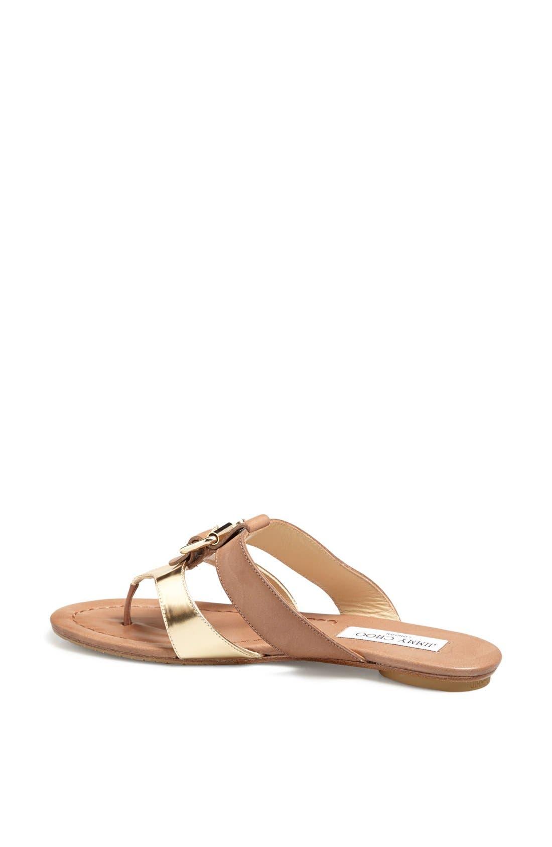 Alternate Image 2  - Jimmy Choo 'Nyssa' Buckle Sandal