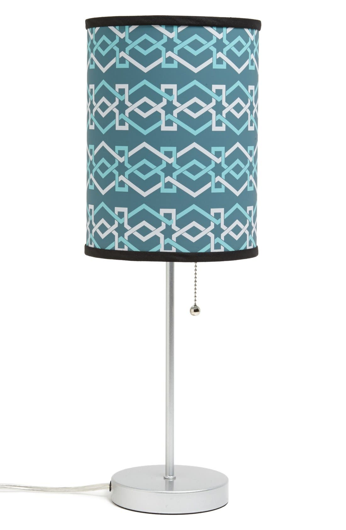 Alternate Image 1 Selected - LAMP-IN-A-BOX Zigzag Table Lamp
