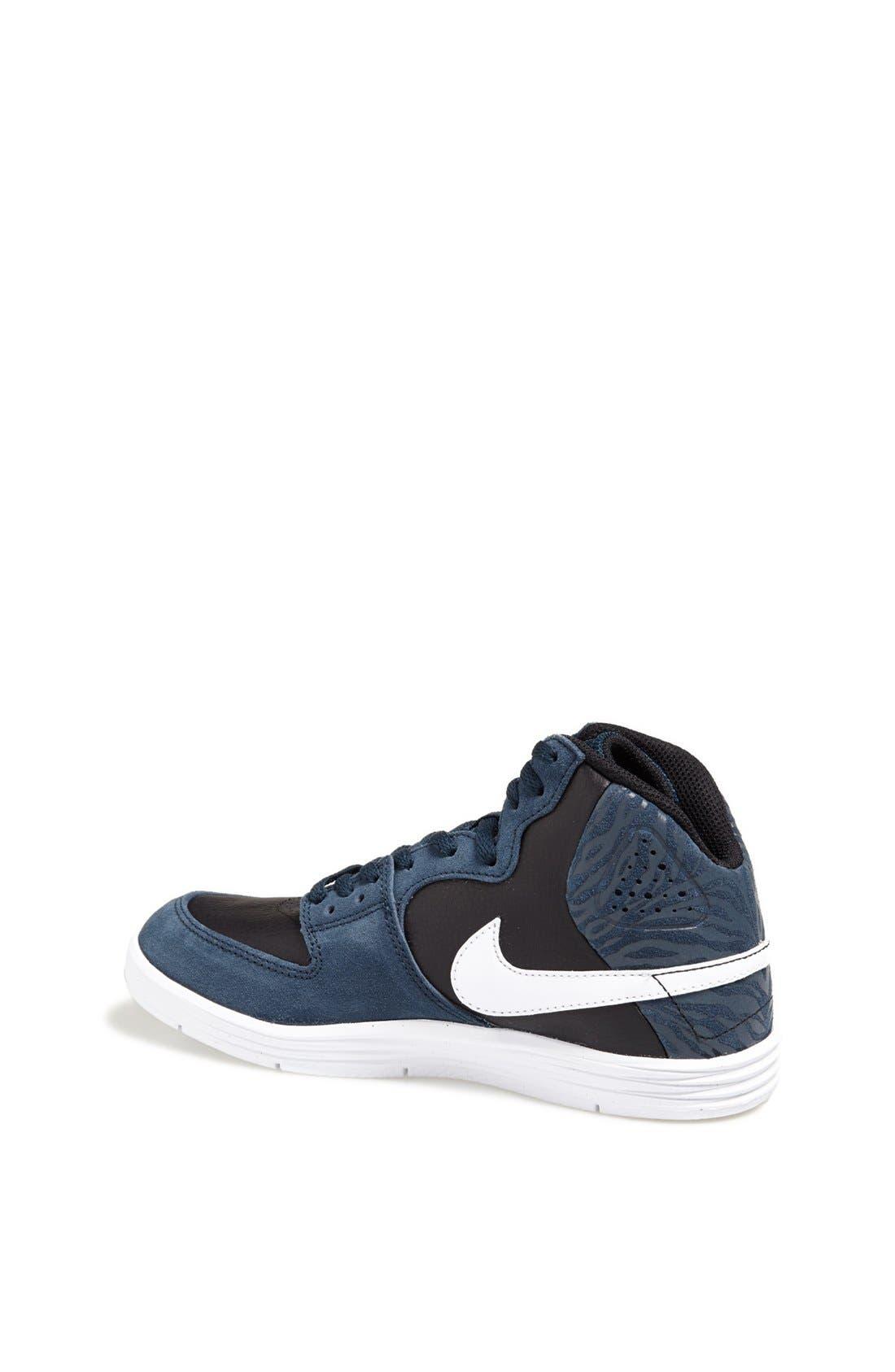 Alternate Image 2  - Nike 'Paul Rodriguez 7' High Top Sneaker (Big Kid)
