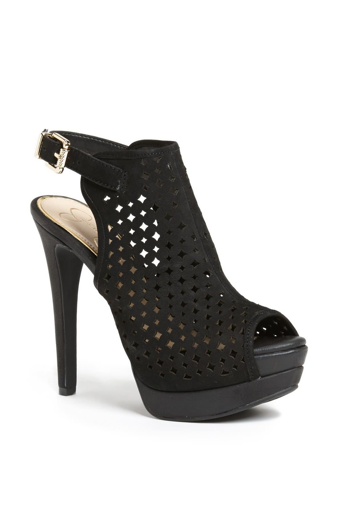 Alternate Image 1 Selected - Jessica Simpson 'Seigfried' Slingback Platform Sandal