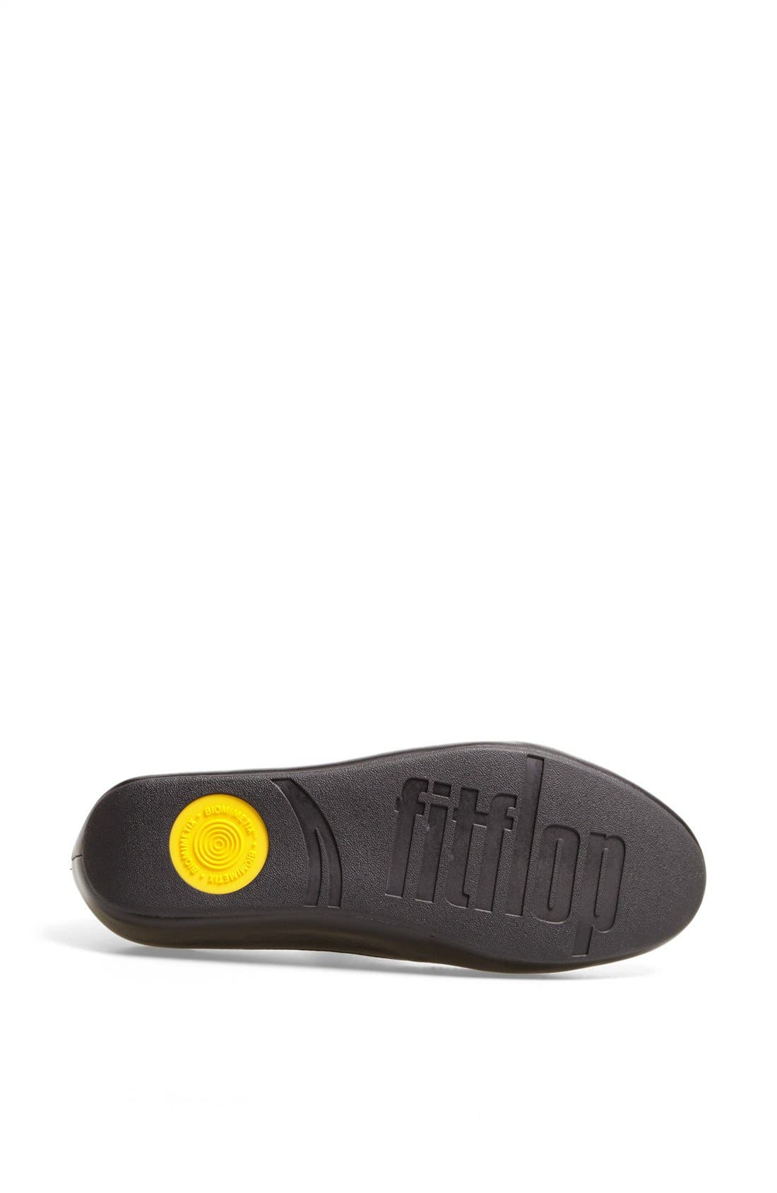 Alternate Image 4  - FitFlop 'Dué™ Oro' Leather Flat