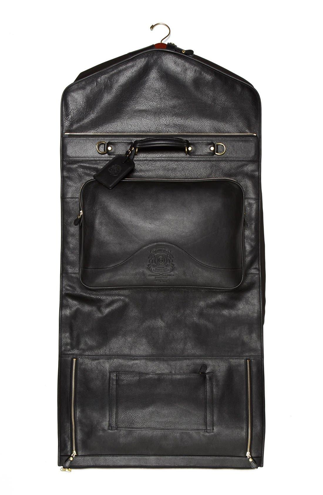 Alternate Image 4  - Ghurka 'Packet No. 83' Leather Garment Bag