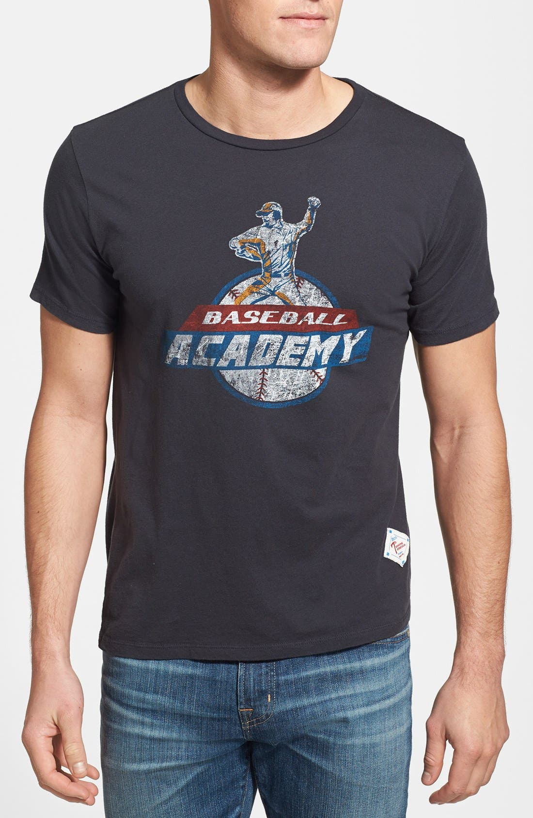 Alternate Image 1 Selected - 7th Inning Stretch 'Academy' Slim Fit T-Shirt