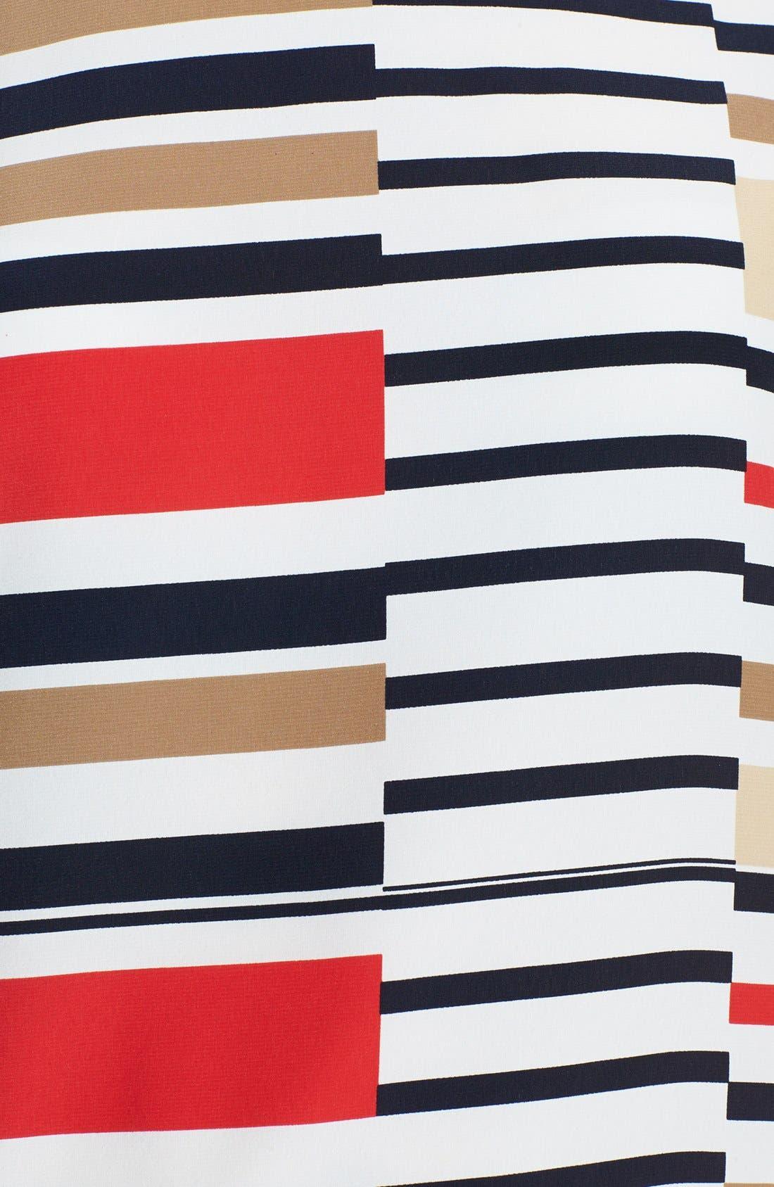 Alternate Image 3  - Vince Camuto 'Legacy Stripe' Tee (Regular & Petite)