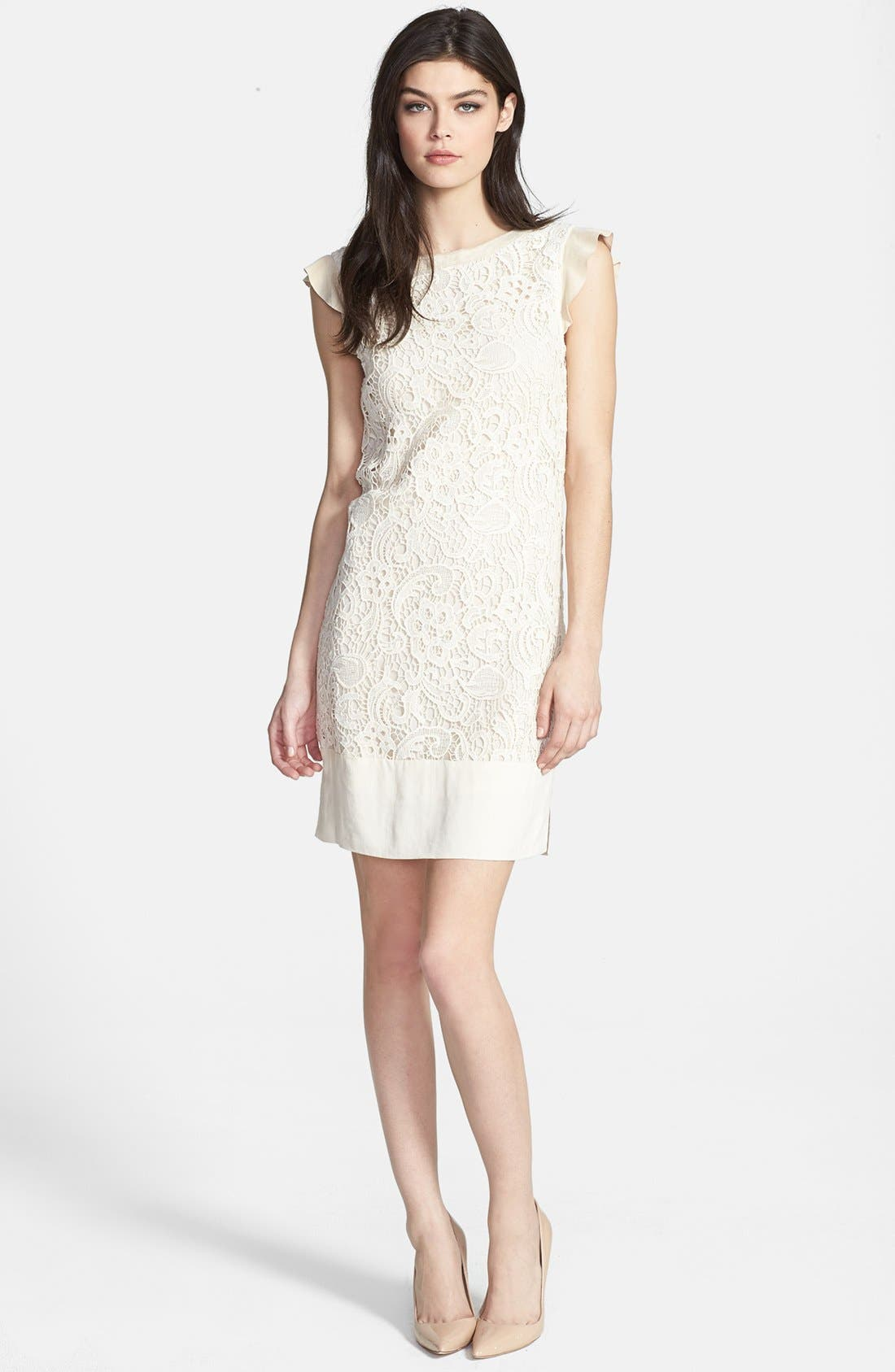 Alternate Image 1 Selected - Ella Moss 'Jamie' Lace Shift Dress