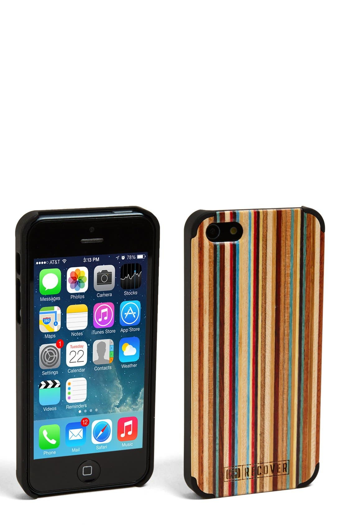 Alternate Image 1 Selected - Recover 'Skateboard' iPhone 5 & 5s Case