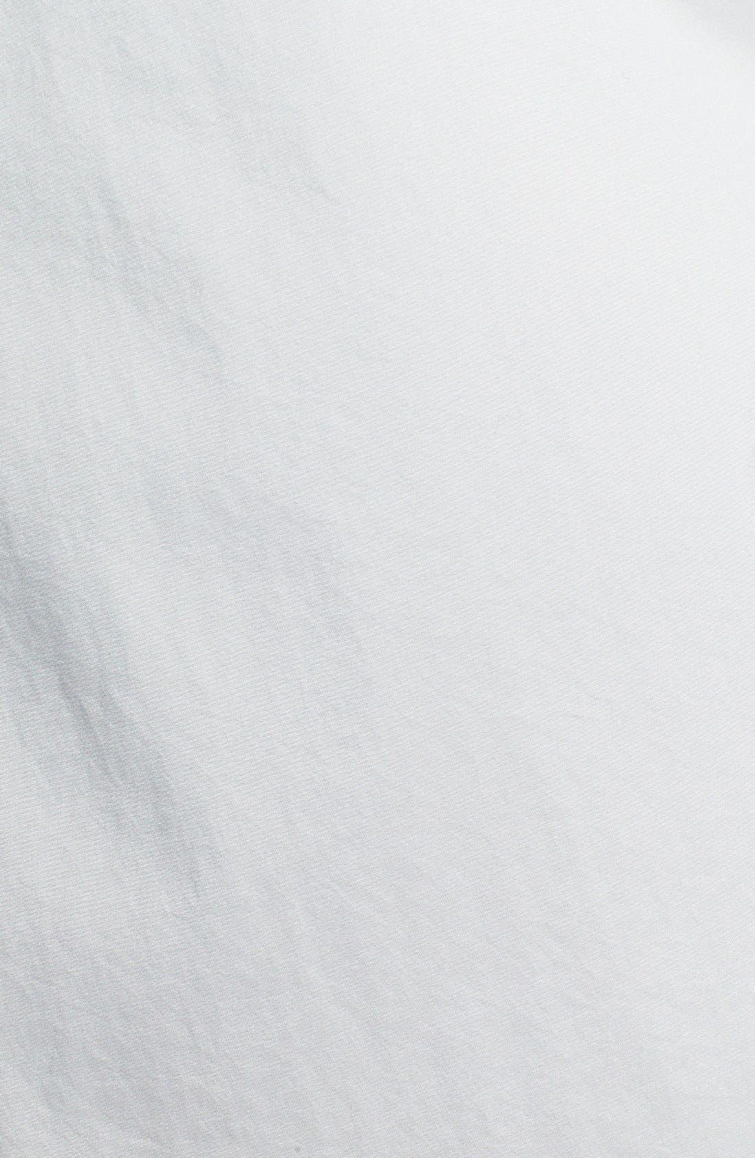 Alternate Image 3  - Gallery Roll Sleeve A-Line Hooded Walking Coat (Regular & Petite) (Online Only)