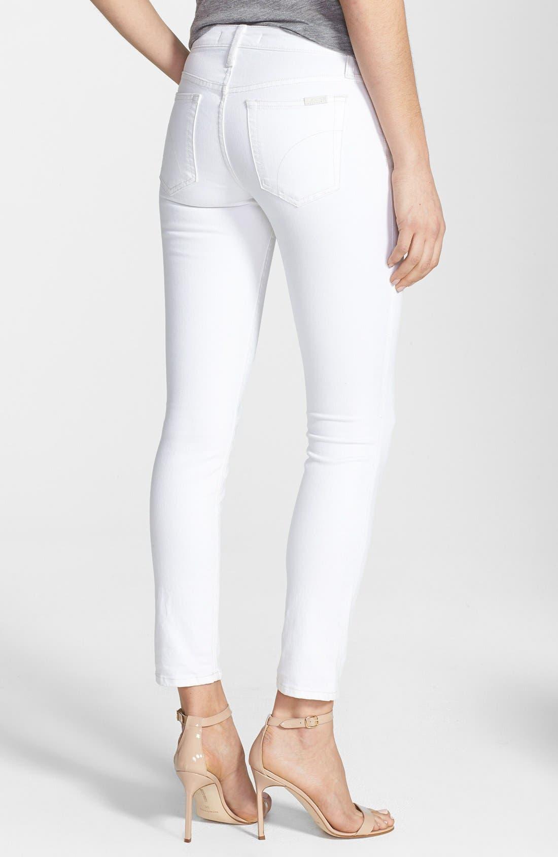 Alternate Image 2  - Joe's Stretch Skinny Ankle Jeans (Pennie)