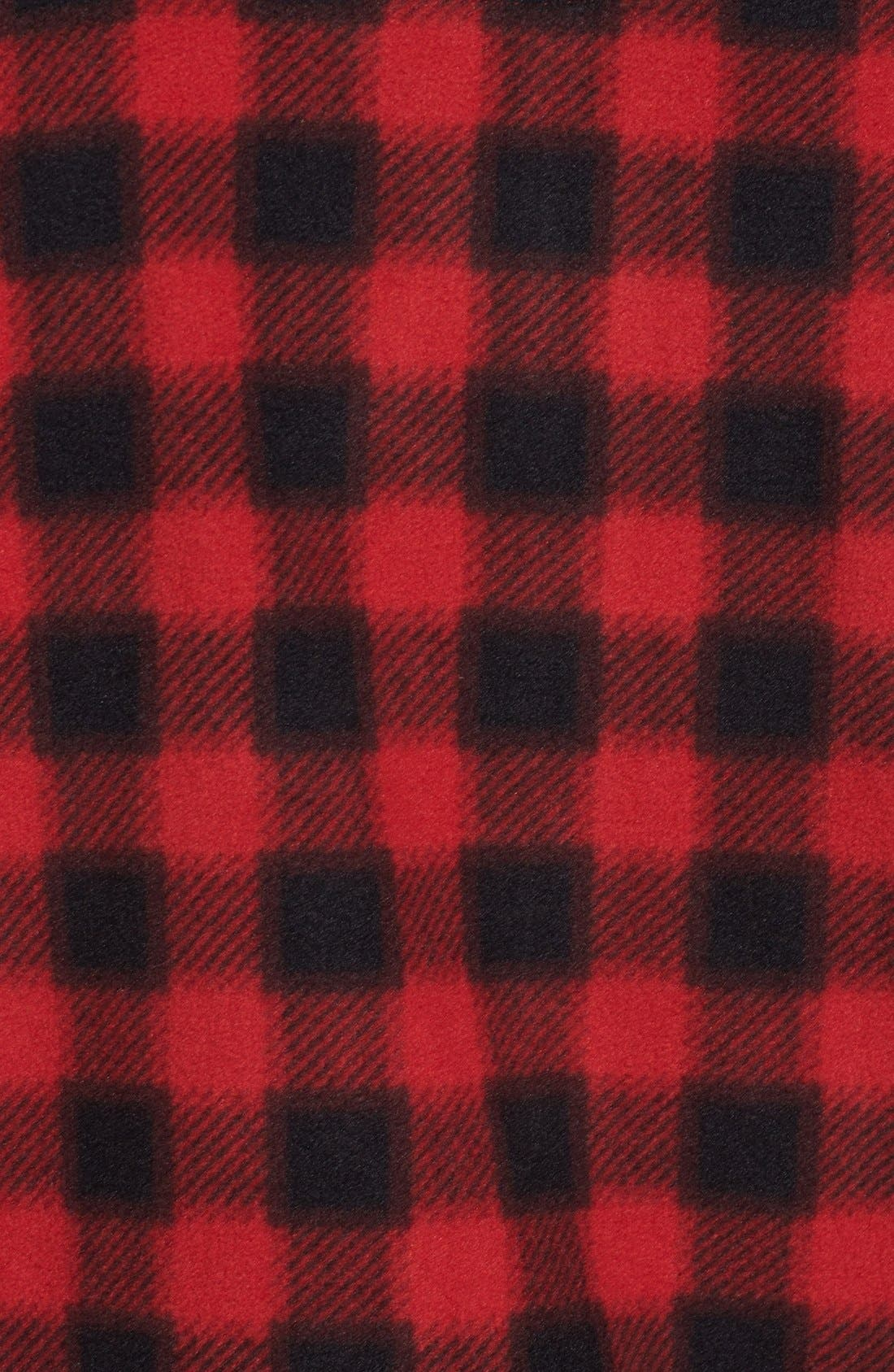 Alternate Image 3  - Wallin & Bros. Trim Fit Plaid Full Zip Fleece