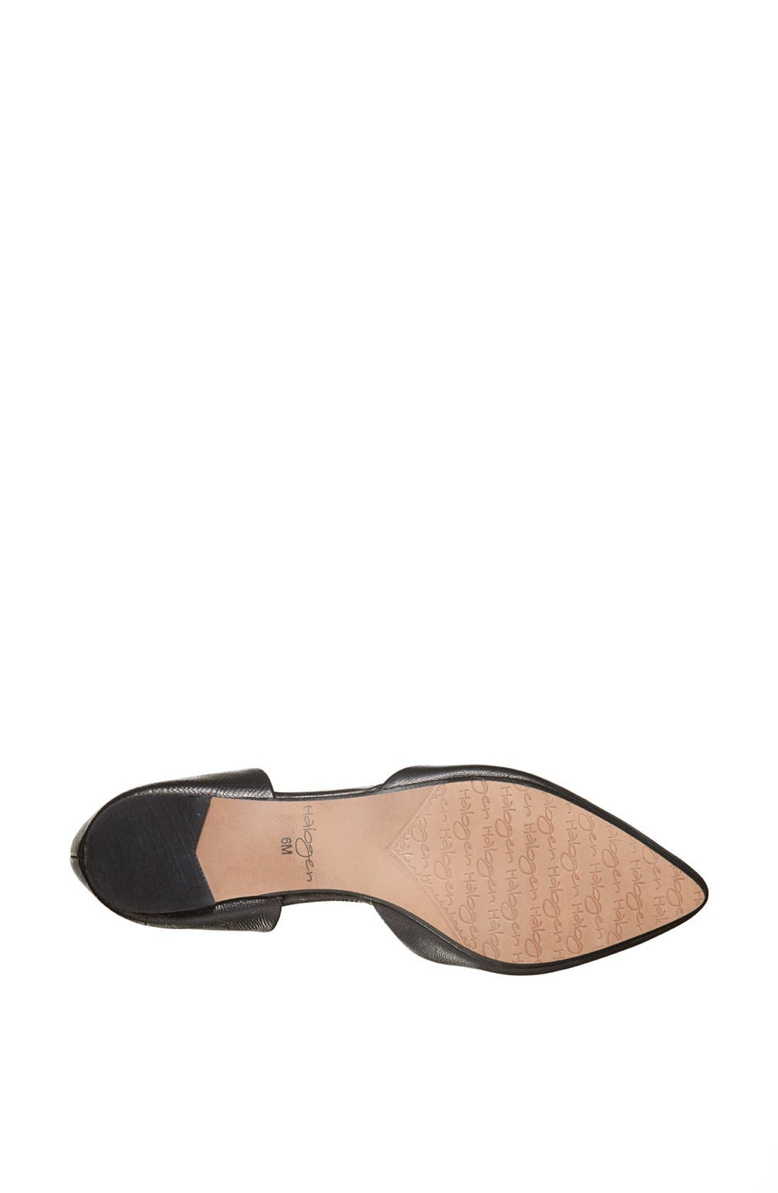 Alternate Image 4  - Halogen® 'Leta' d'Orsay Flat