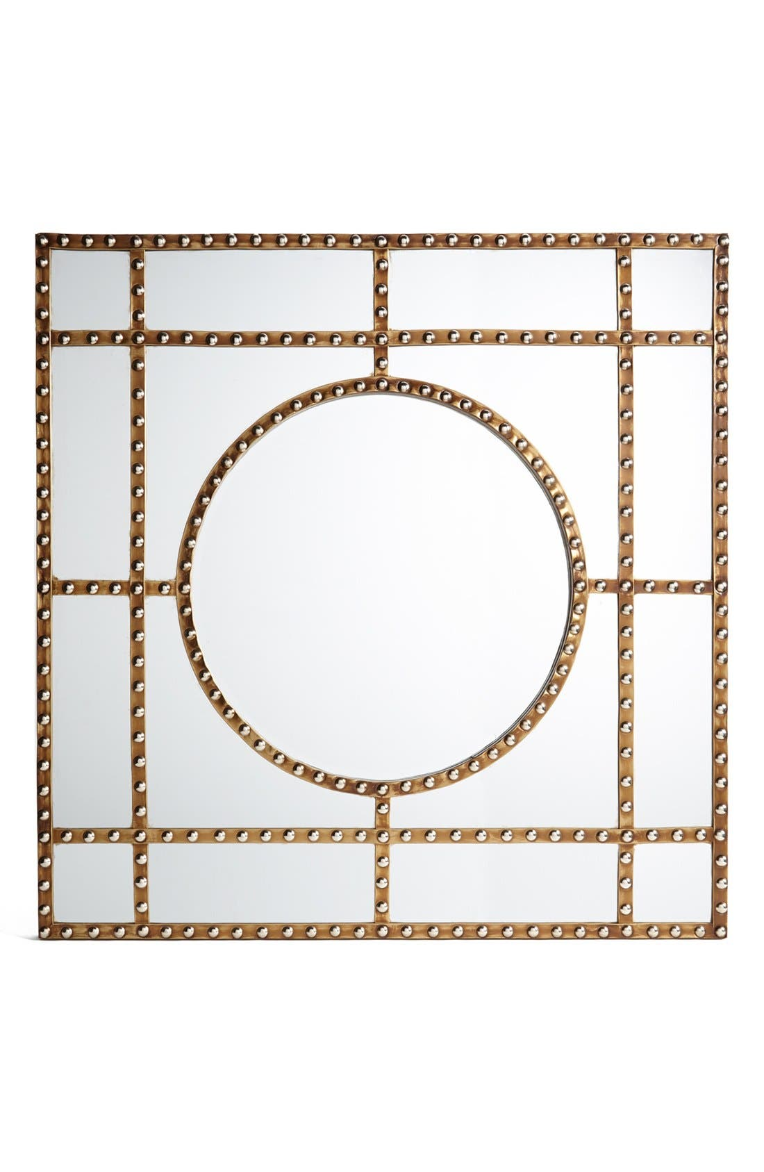 Main Image - Three Hands Studded Metal Mirror