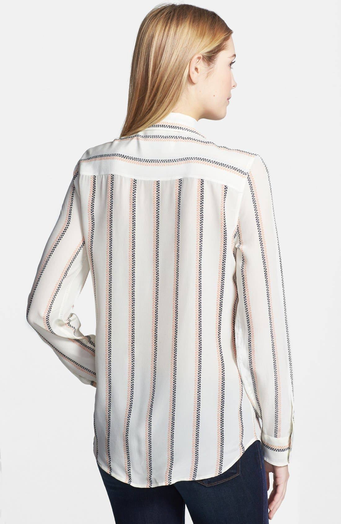 Alternate Image 2  - Equipment 'Brett' Stripe Silk Shirt