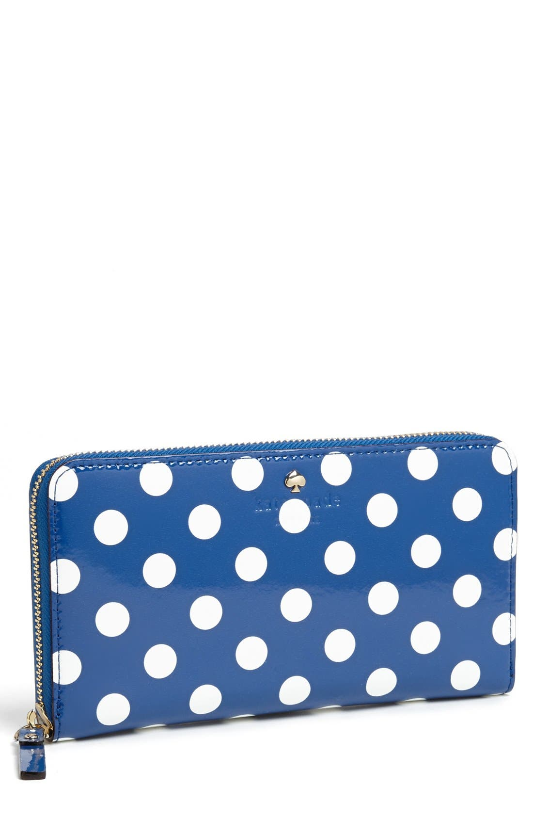 Main Image - kate spade new york 'carlise street - lacey' zip around wallet