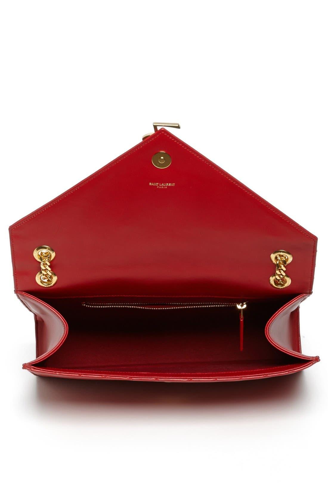 Alternate Image 3  - Saint Laurent 'Cassandre Lisse - Large' Shoulder Bag