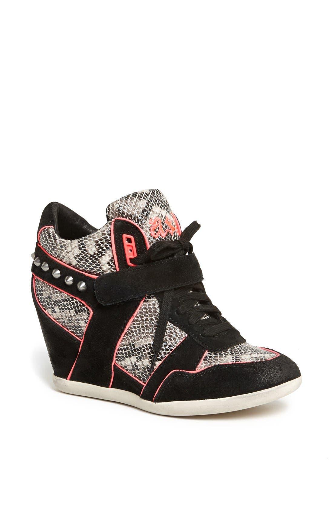 Main Image - Ash 'Bisou' Spike Studded Hidden Wedge Sneaker