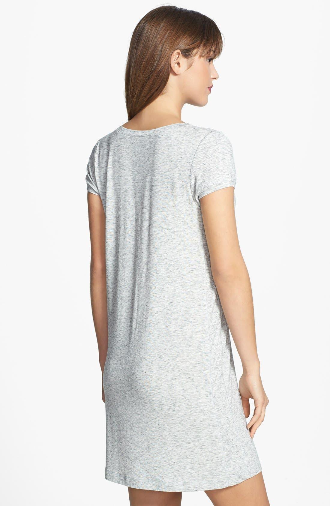 Alternate Image 2  - DKNY 'City Essentials' V-Neck Sleep Shirt