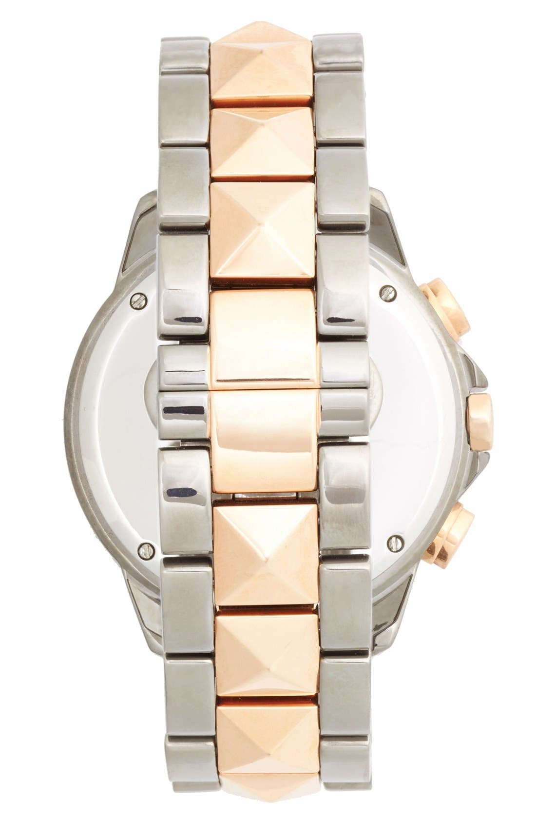Alternate Image 4  - Vince Camuto Crystal Accent Multifunction Watch, 41mm