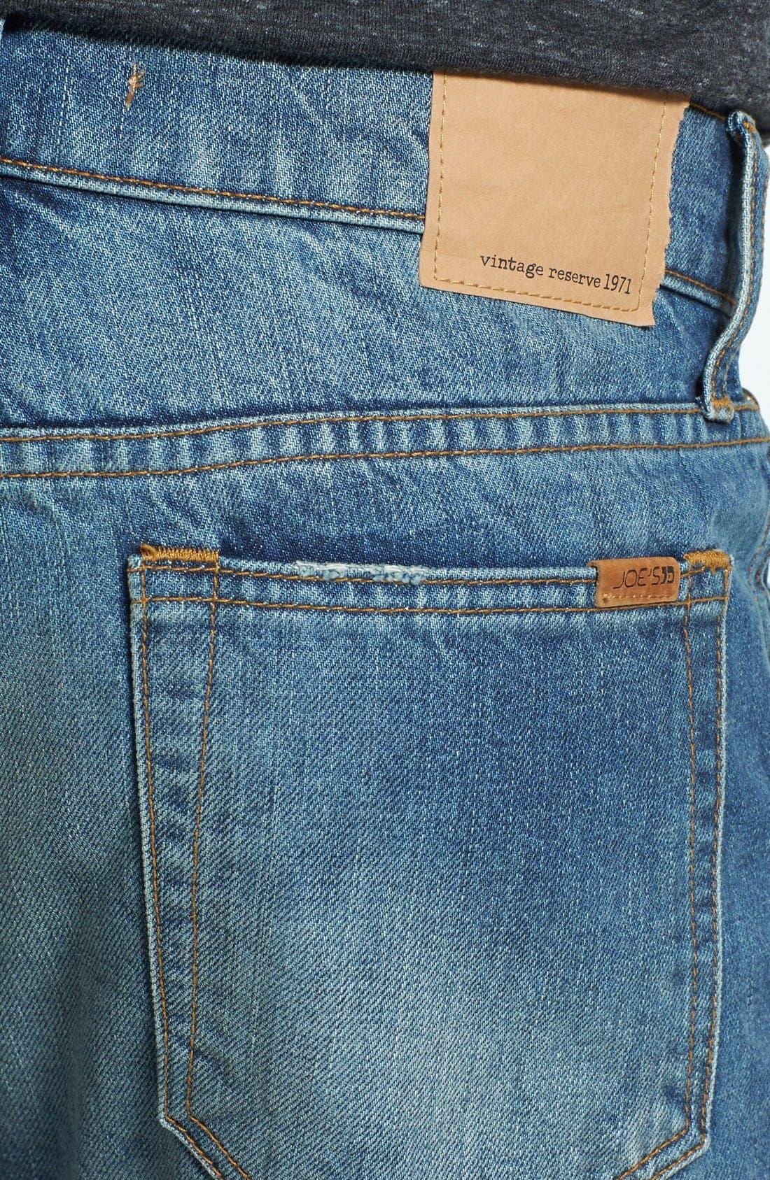 Alternate Image 4  - Joe's 'Brixton' Slim Fit Jeans (Samir)