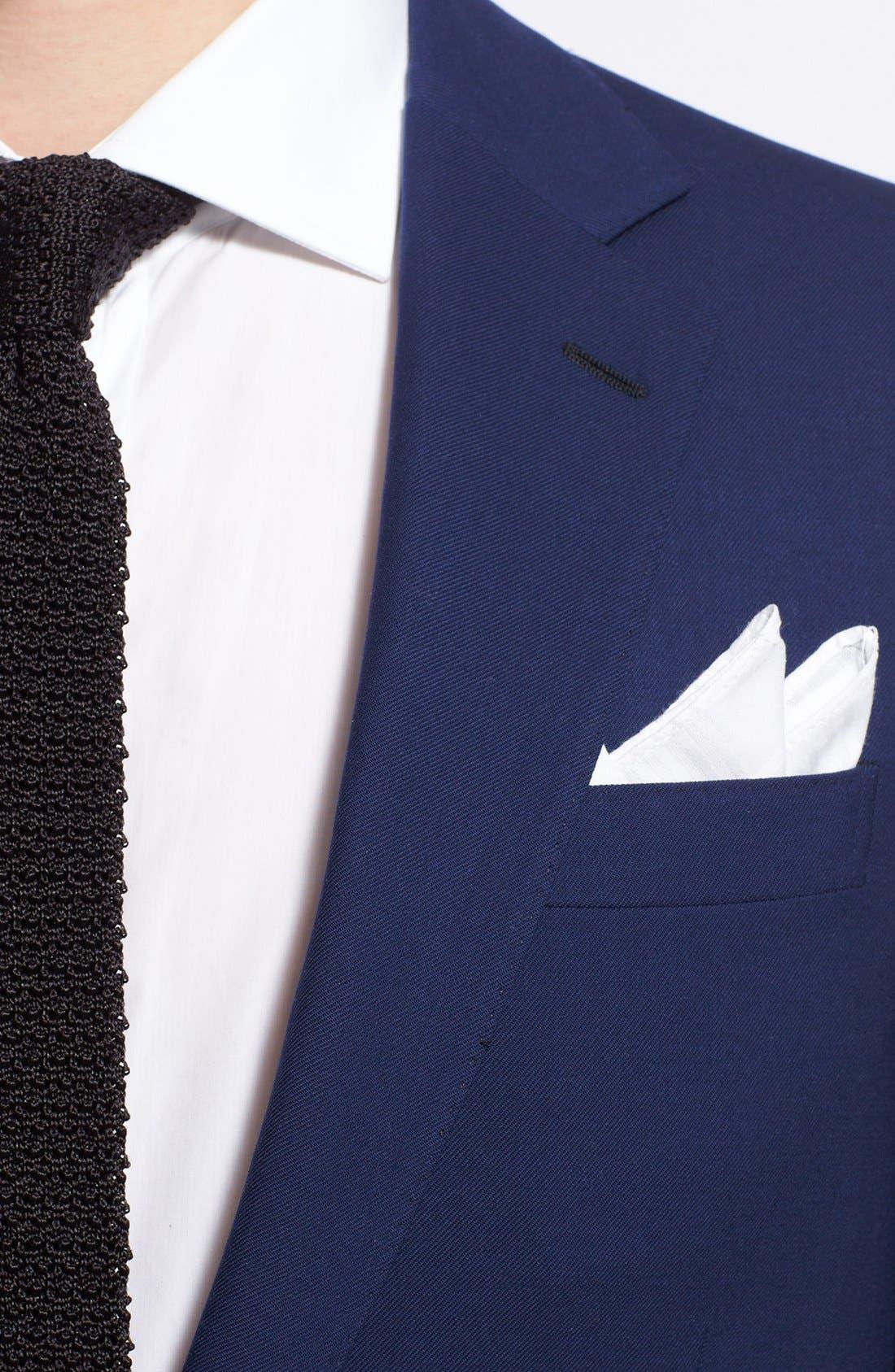 Alternate Image 5  - Ralph Lauren Black Label Twill Wool Suit