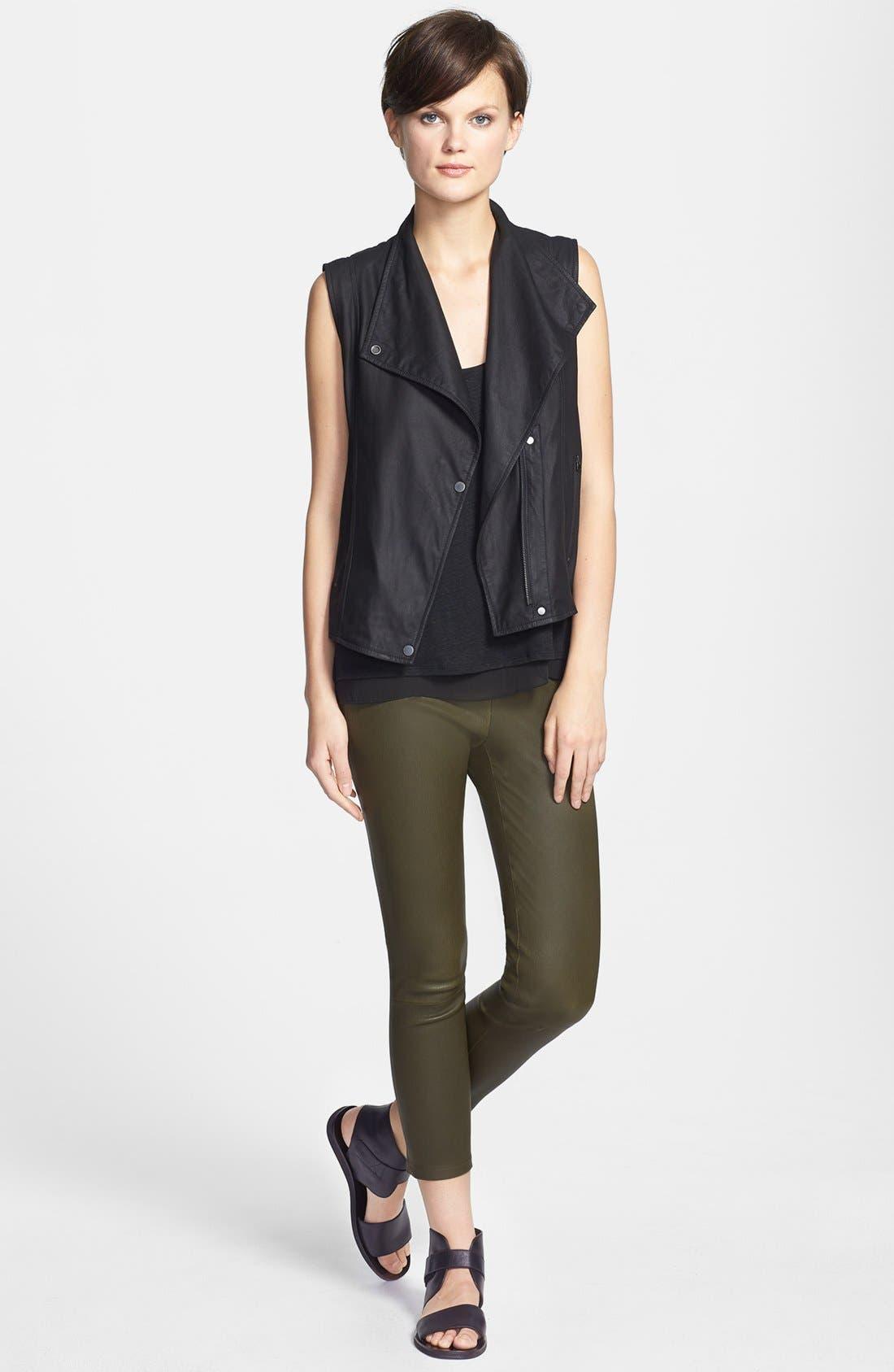 Alternate Image 3  - Vince 'Paper' Leather Vest