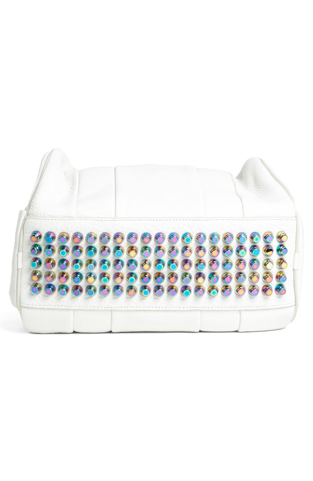 Alternate Image 4  - Alexander Wang 'Rocco - Iridescent' Leather Satchel