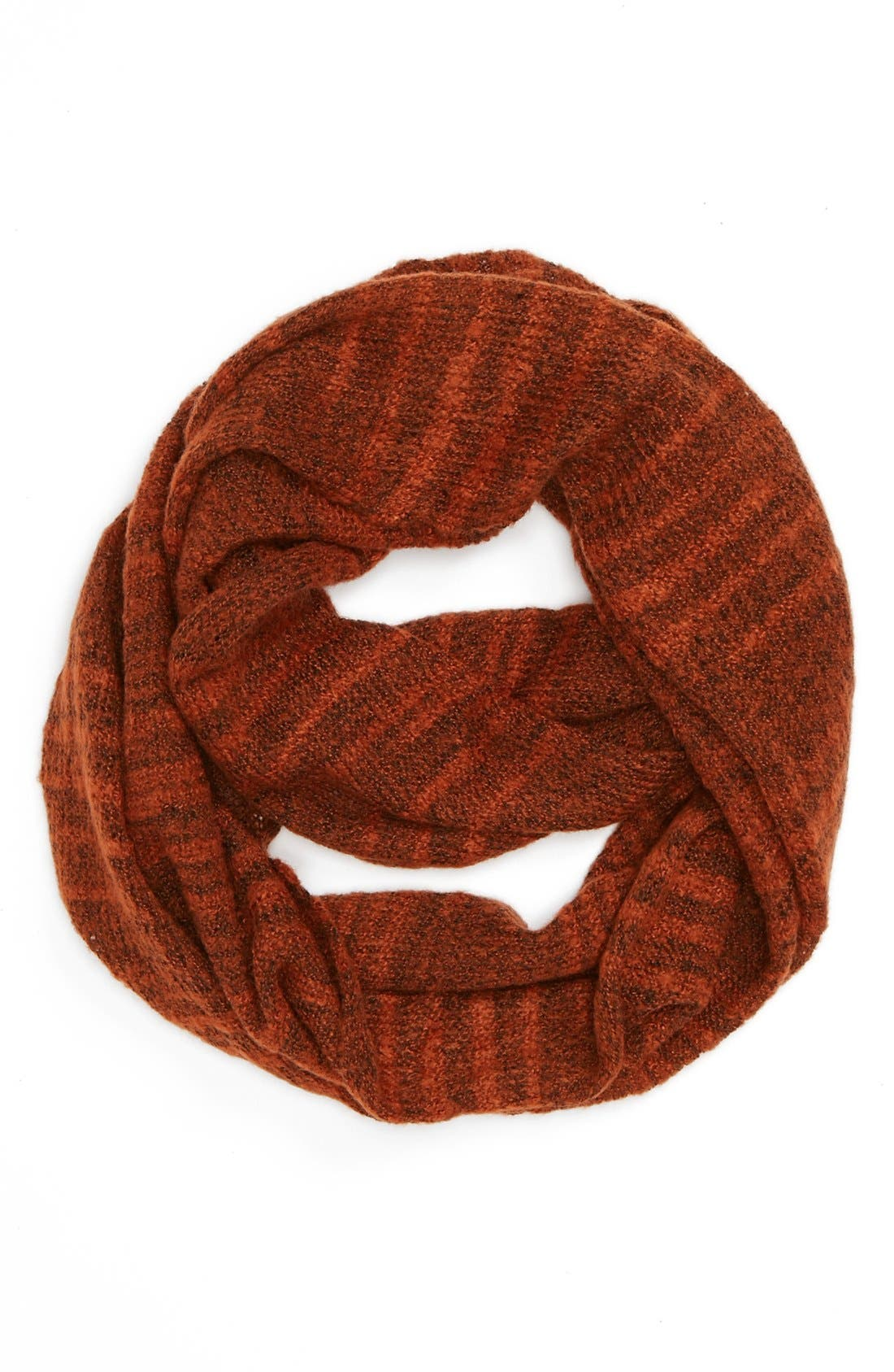 Alternate Image 1 Selected - David & Young Stripe Infinity Scarf (Juniors) (Online Only)