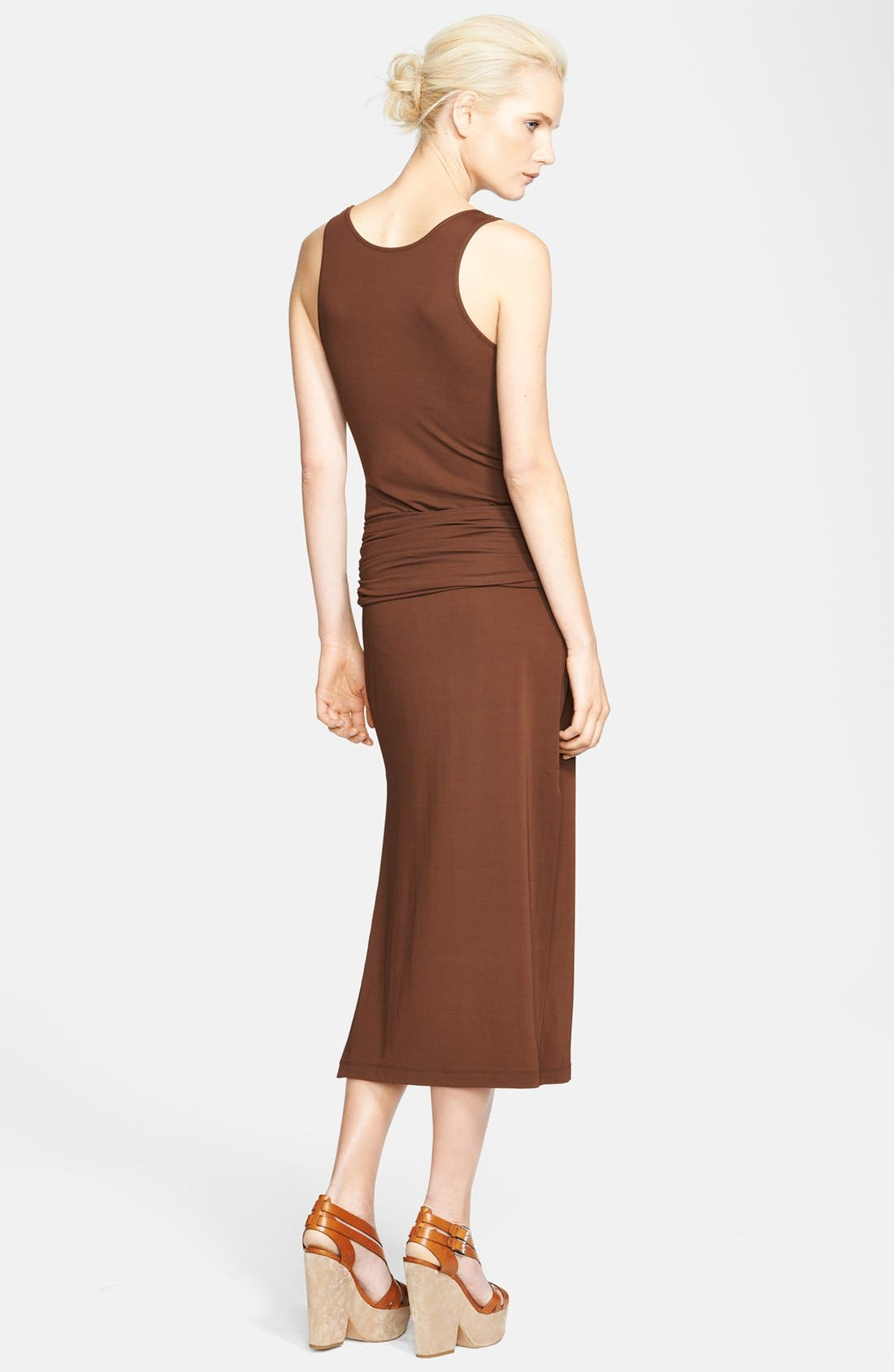 Alternate Image 2  - Michael Kors Buckled Jersey Tank Dress