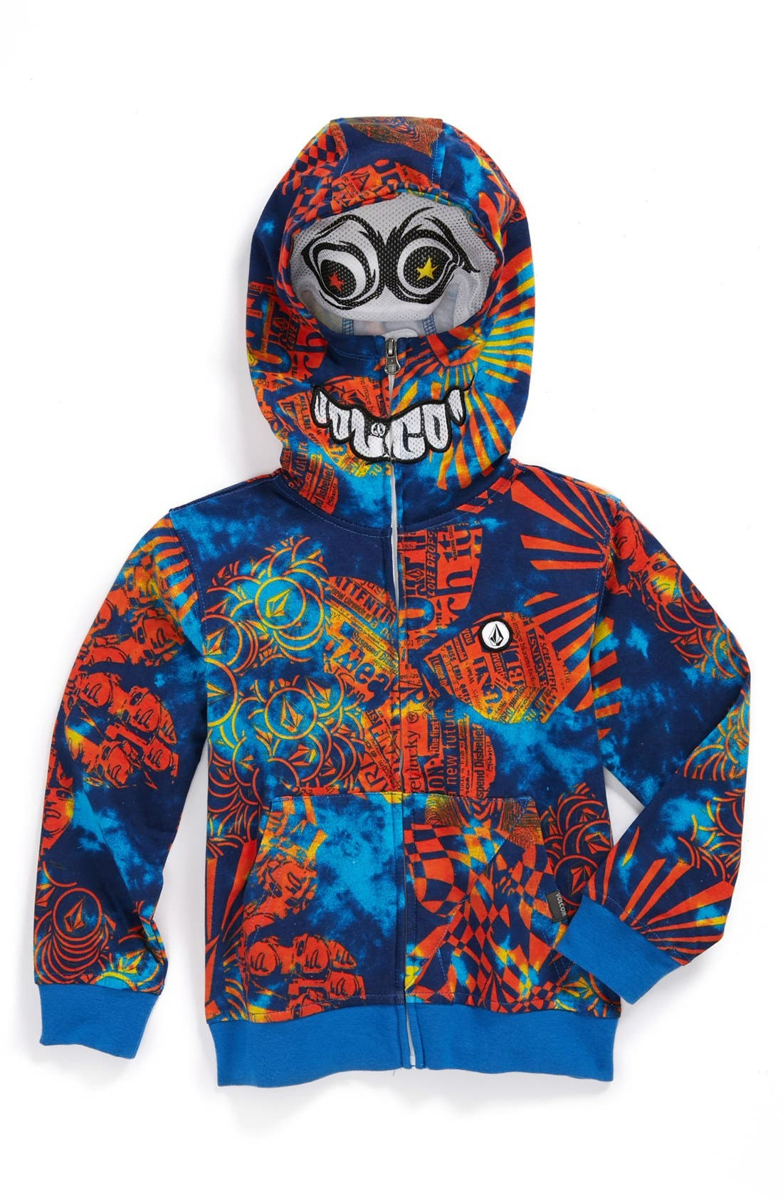Alternate Image 1 Selected - Volcom 'Chargernized' Full Zip Hoodie (Little Boys)