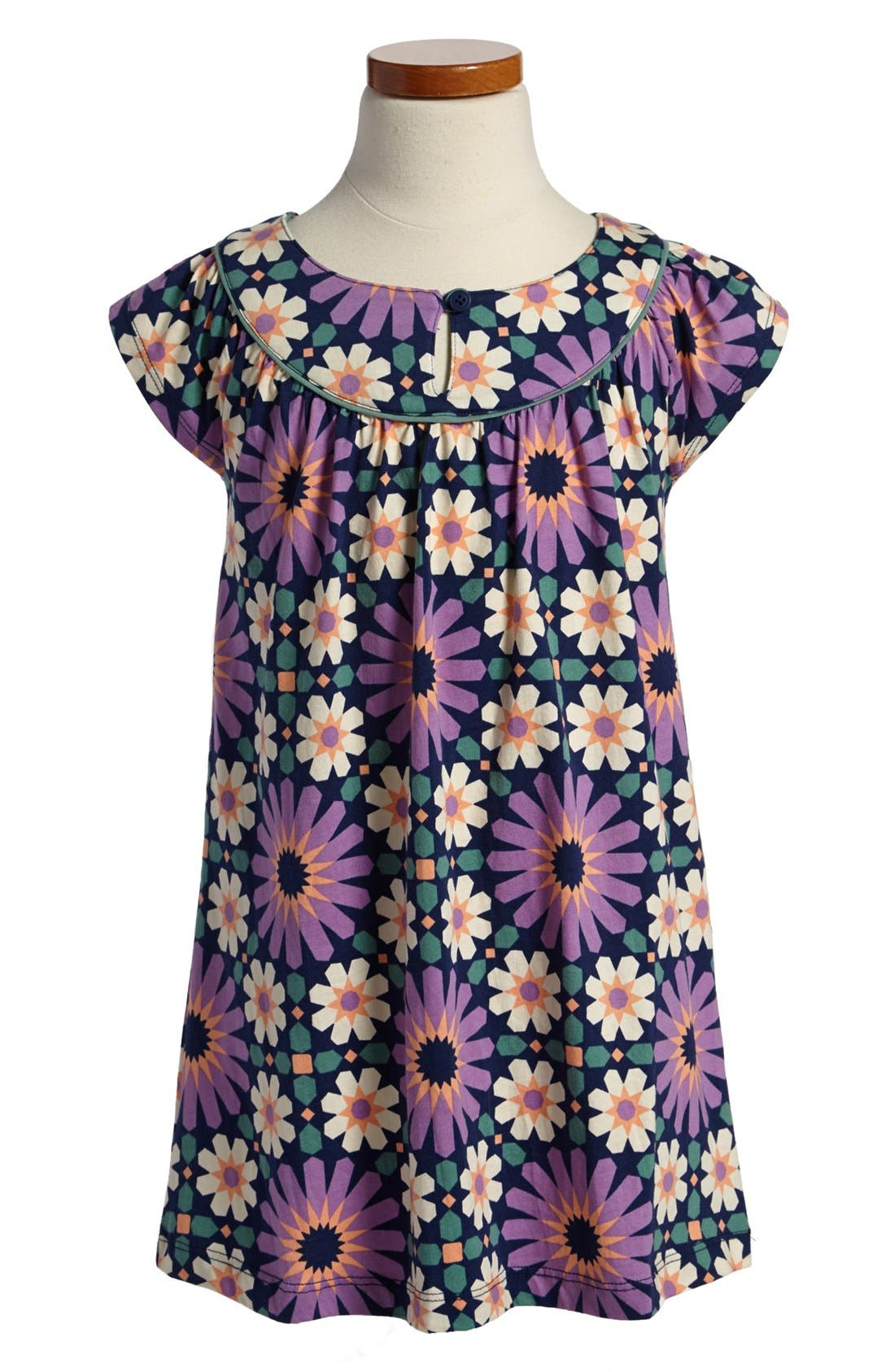 Alternate Image 1 Selected - Tea Collection 'Fes' Tile Print Dress (Little Girls & Big Girls)